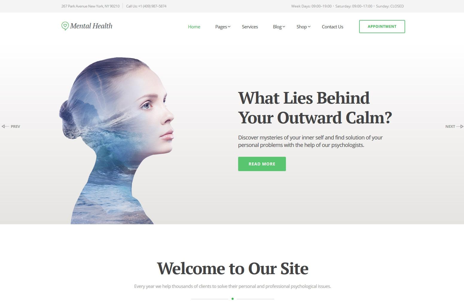 psychologist-premium-html-template