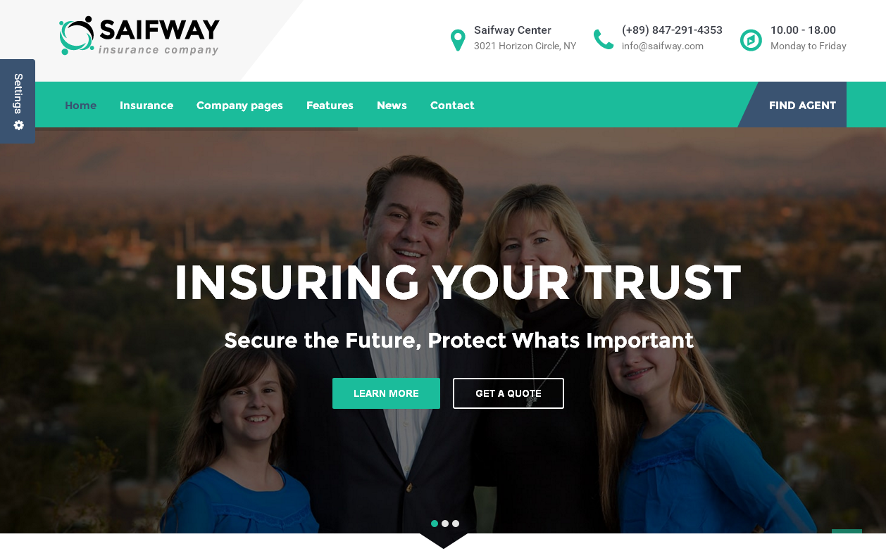 saifway-premium-wordpress-theme