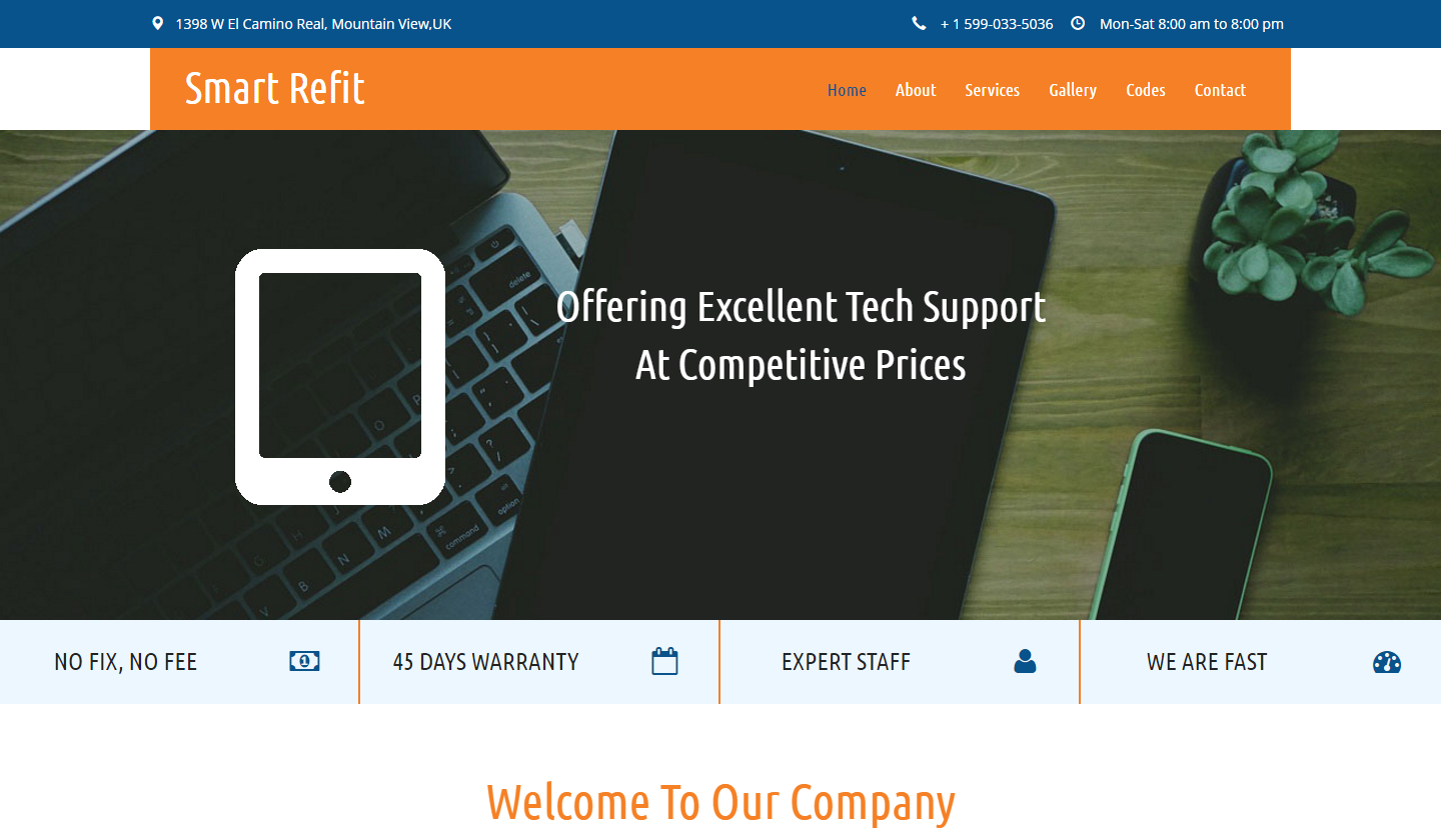 smart-refit-free-html-template