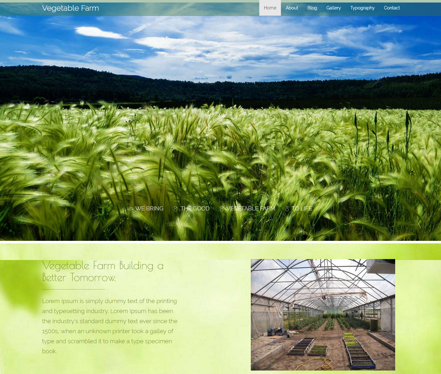 vegetable-farm-free-html-template
