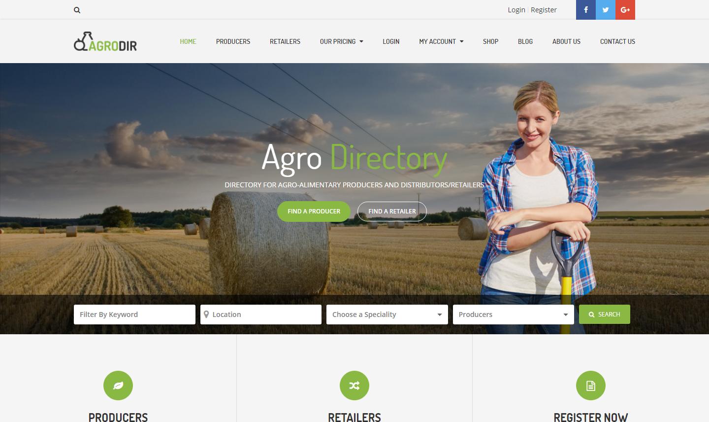 agrodir-premium-wordpress-theme