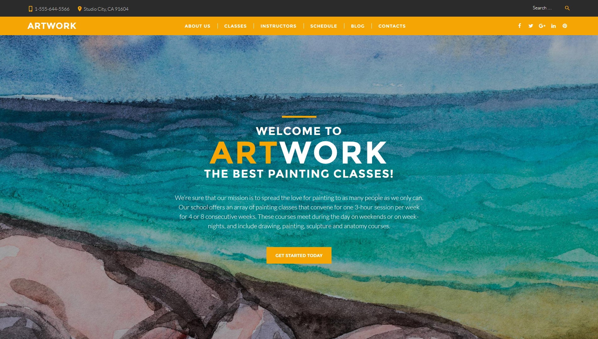 art-school-premium-wordpress-theme