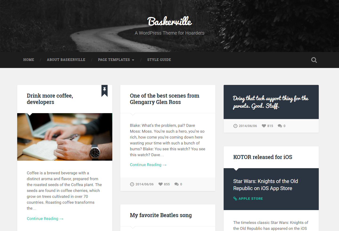 baskerville-free-wordpress-theme