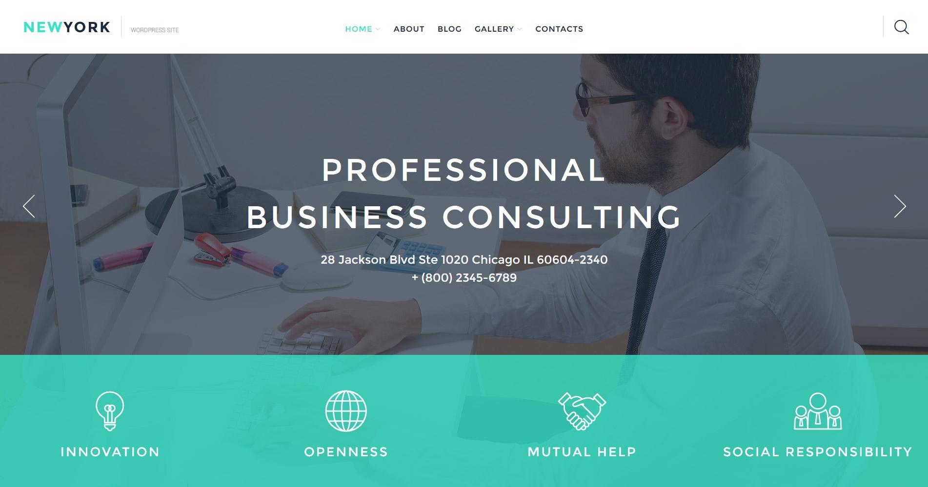 business-premium-wordpress-theme