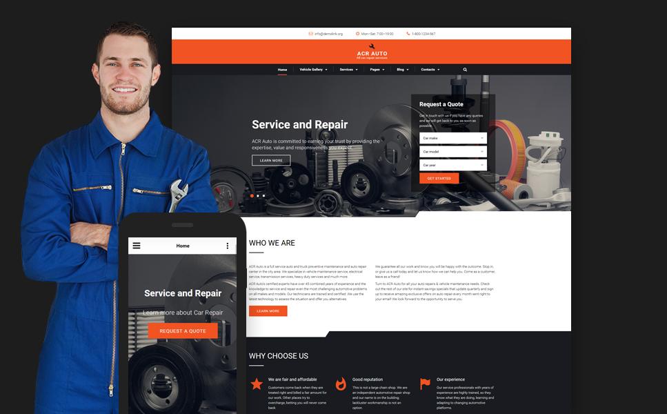 car-repair-premium-html-template