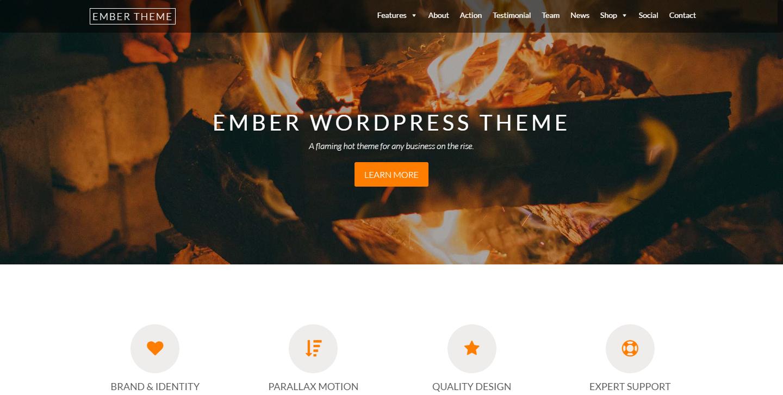 ember-lite-free-wordpress-theme