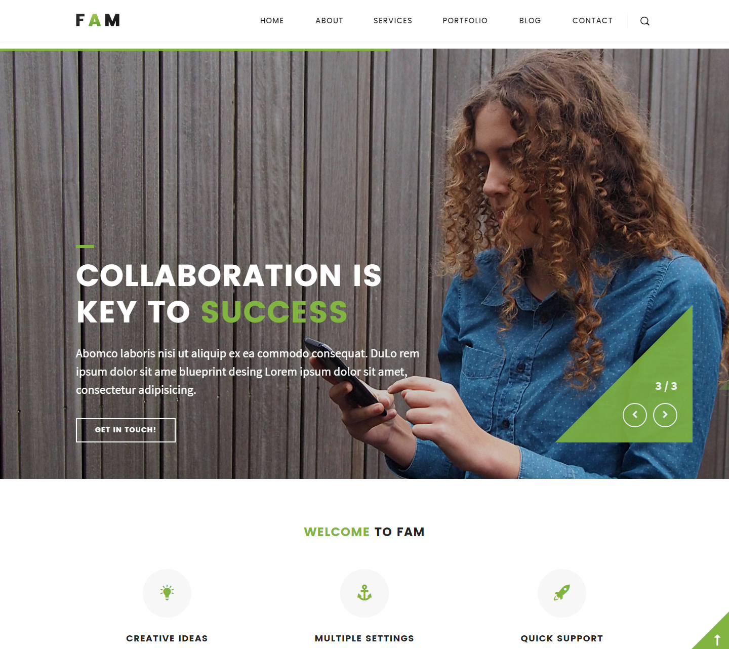 fam-premium-wordpress-theme