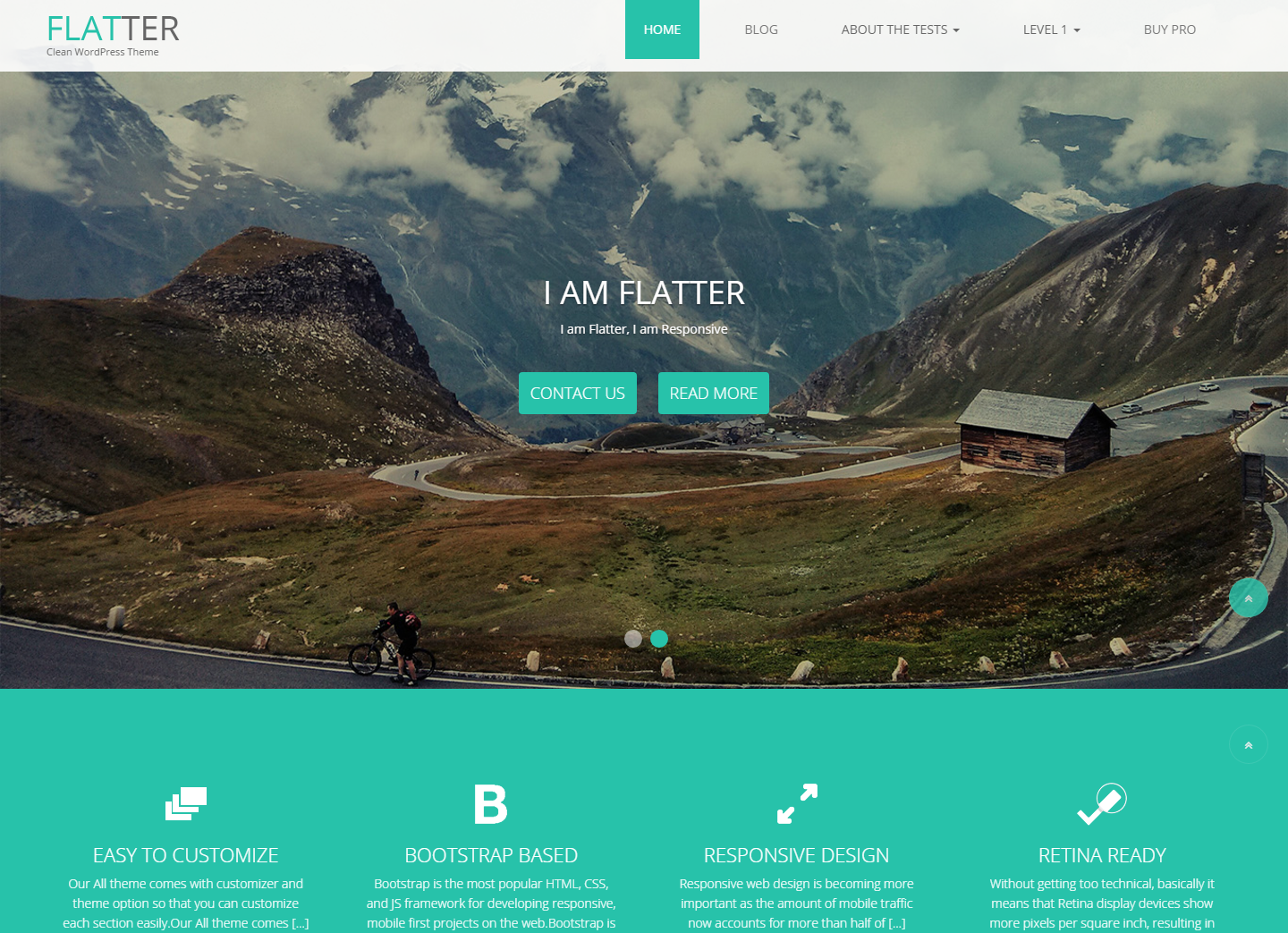 flatter-free-wordpress-theme