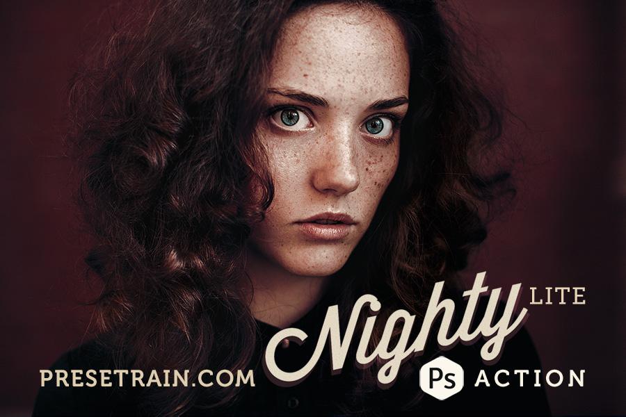 free-nighty-lite-photoshop-action