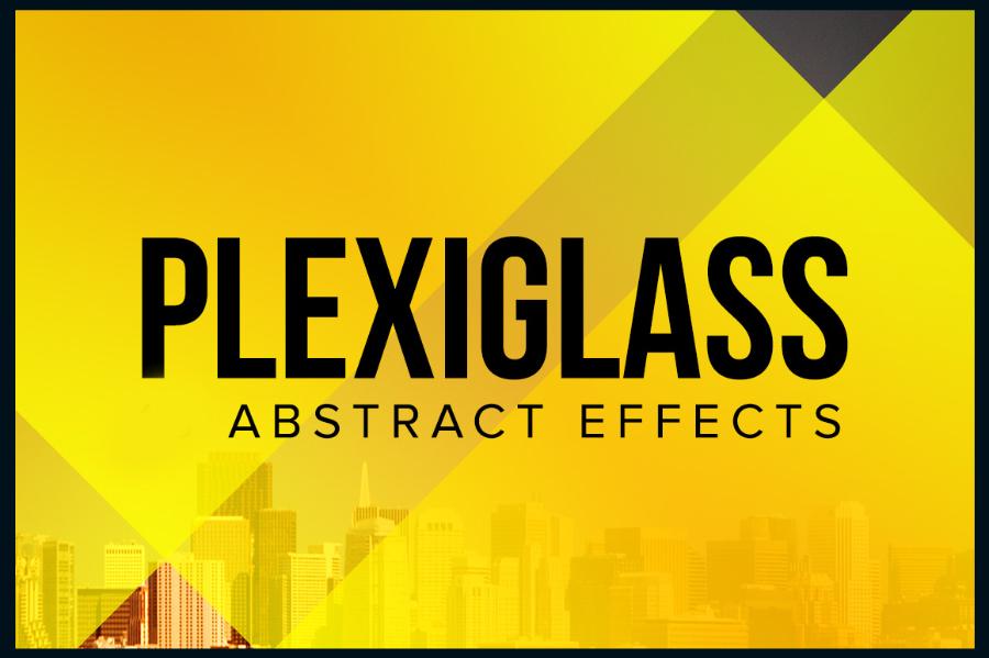 free-plexiglass-psd-action
