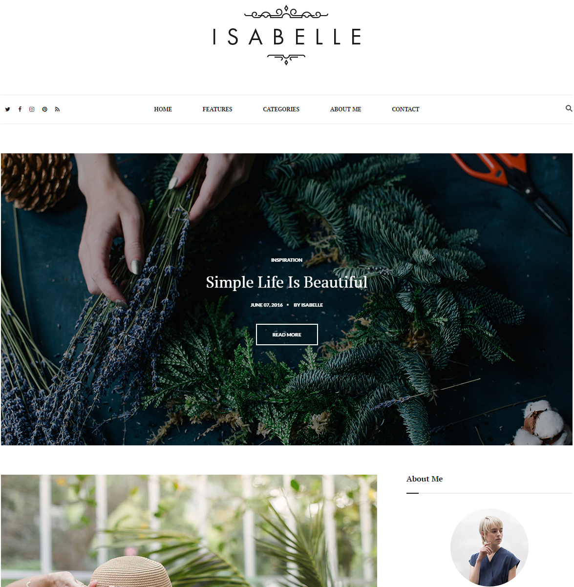 isabelle-premium-html-template