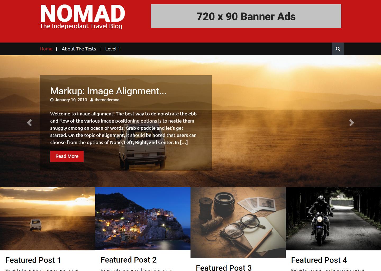 nomand-free-wordpress-theme