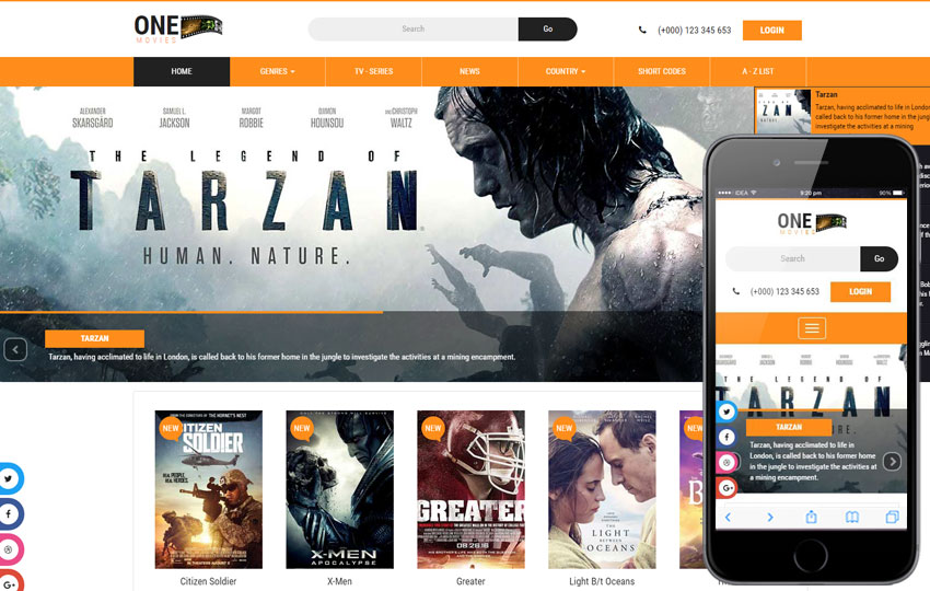 one-movies-free-html-template
