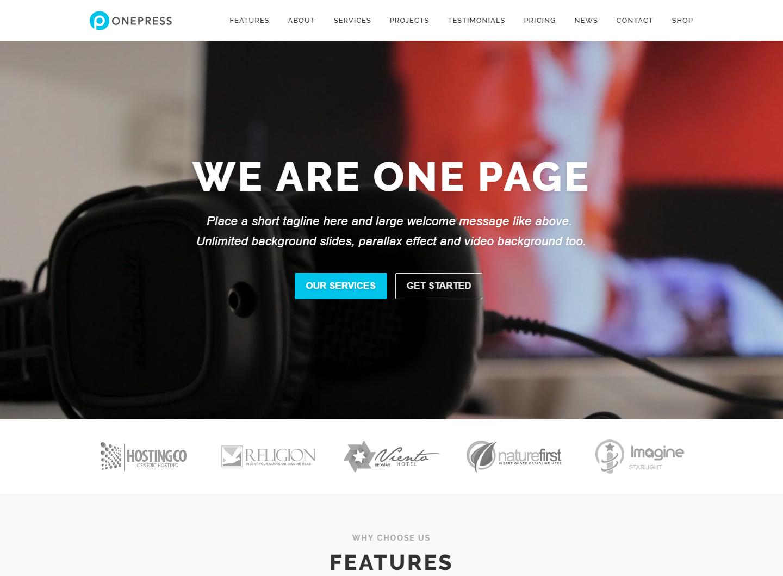 onepress-free-wordpress-theme