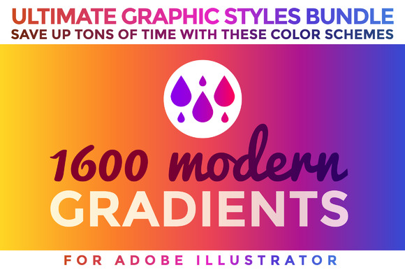 premium-1600- gradients-graphic-styles-bundle