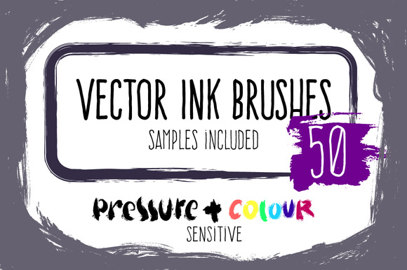 premium-vector-ink-brushes-set