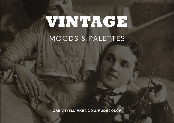 premium-vintage-mood-boards-&-color-palettes