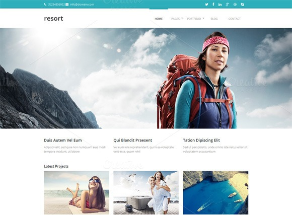 resort-premium-html-template