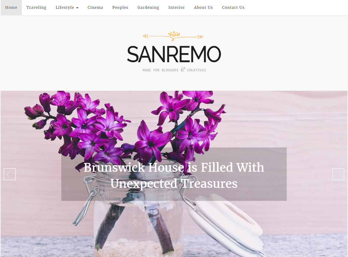 sanremo-free-wordpress-theme