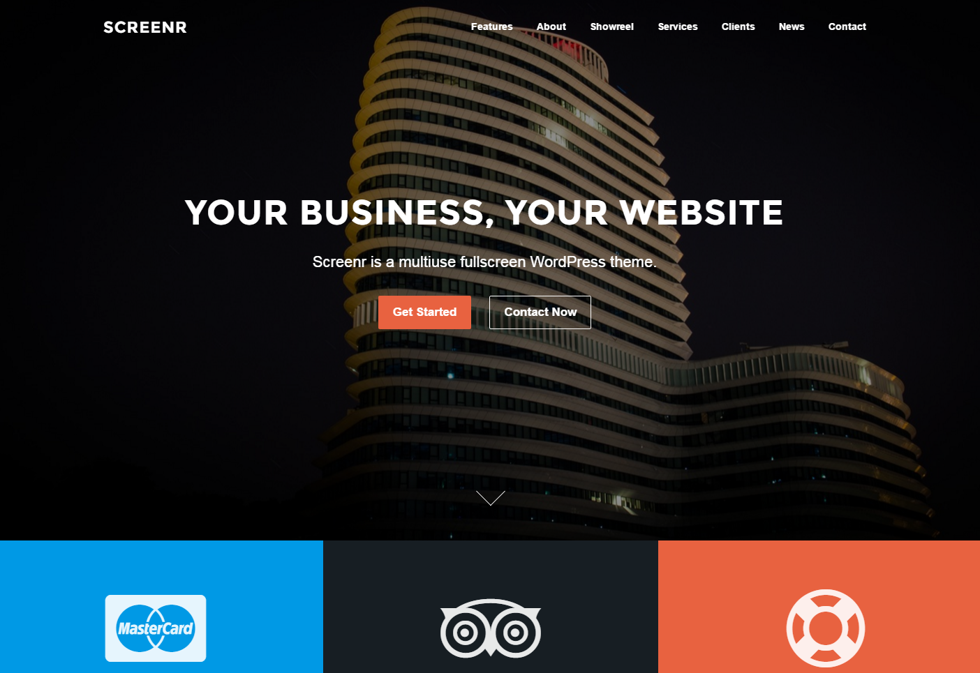 screenr-free-wordpress-theme