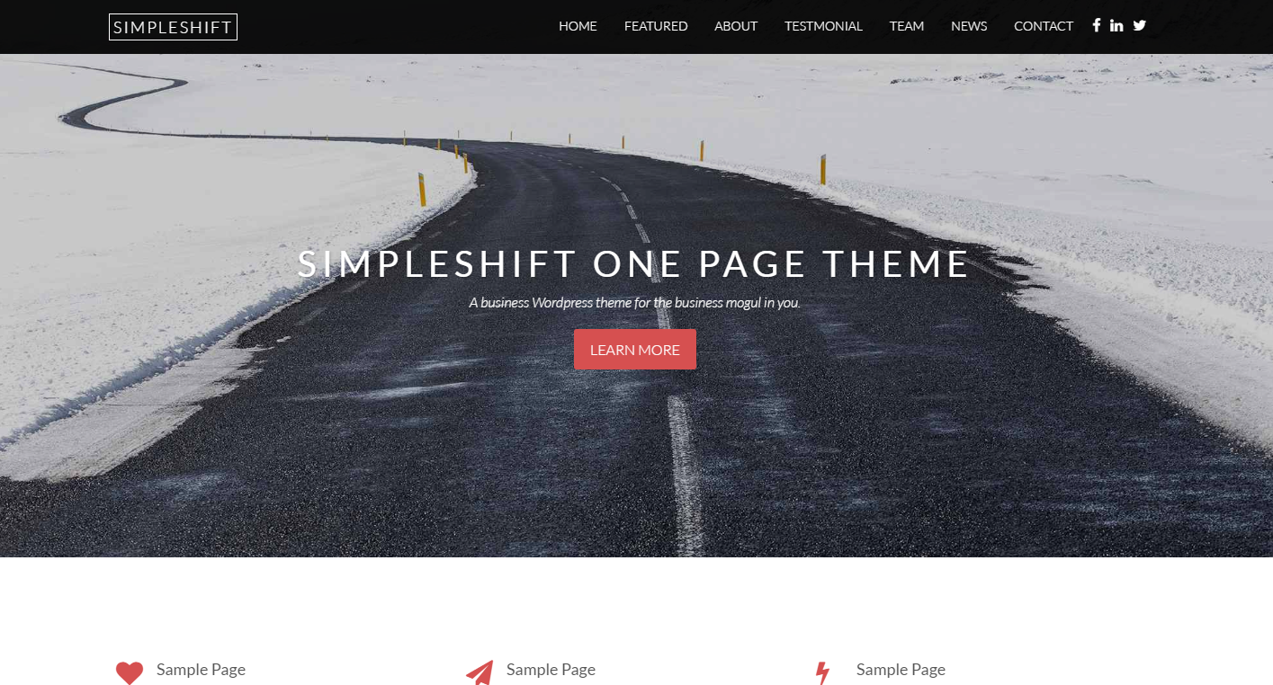 simpleshift-free-wordpress-theme