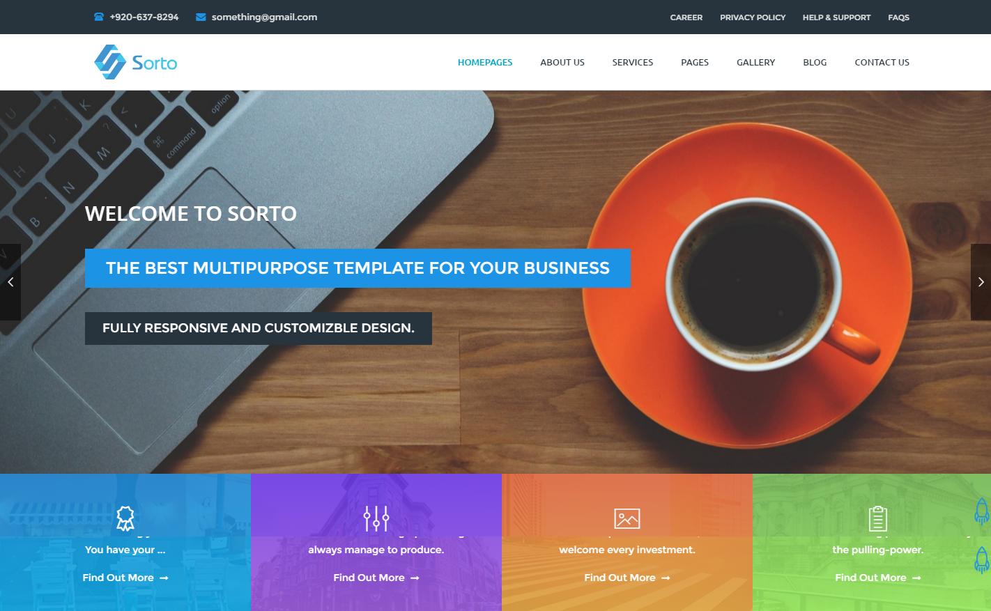 sorto-premium-wordpress-theme