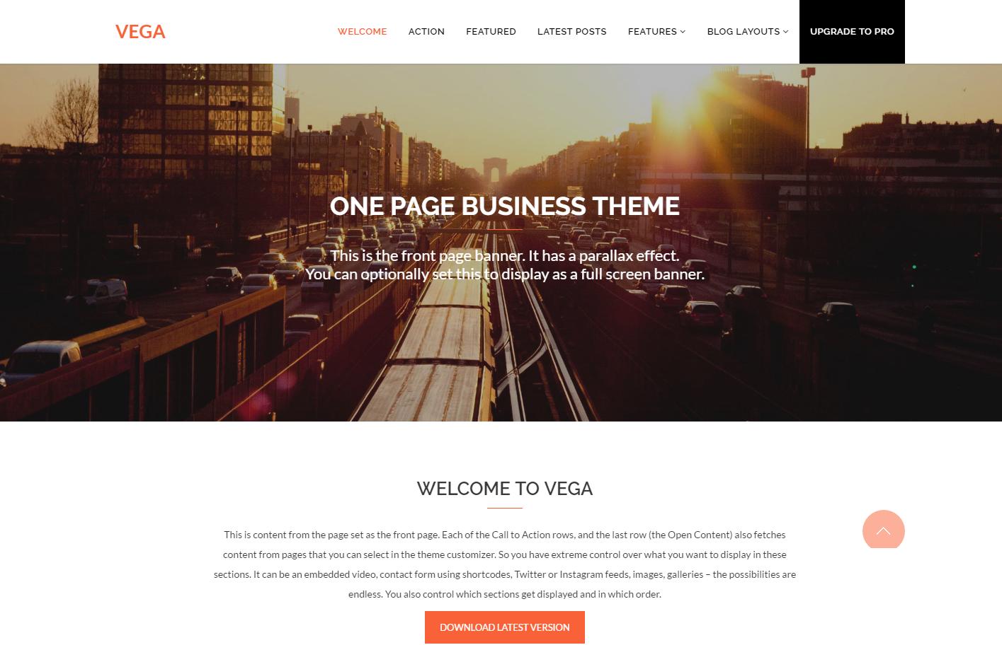 vega-free-wordpress-theme