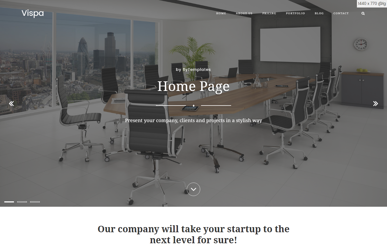 vispa-premium-html-template