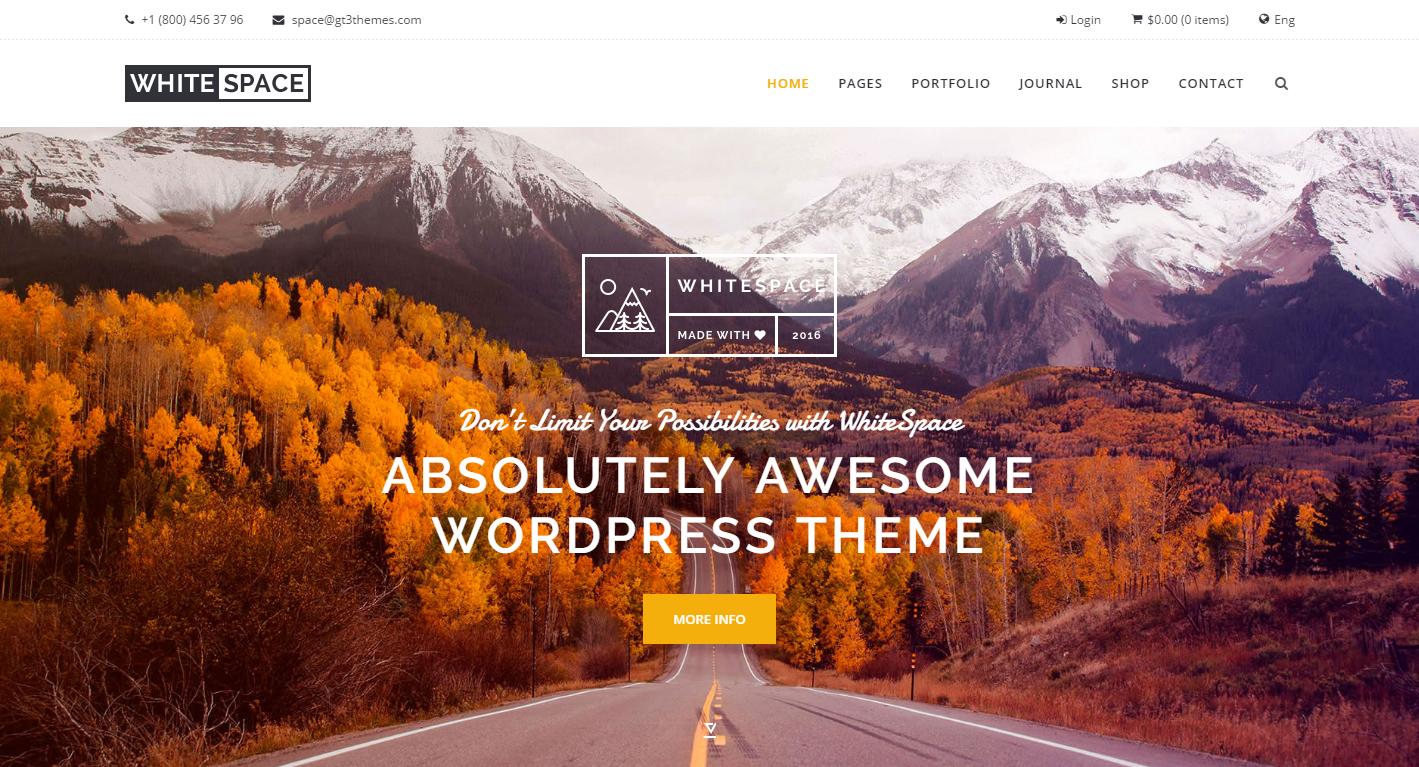 whitespace-premium-wordpress-theme