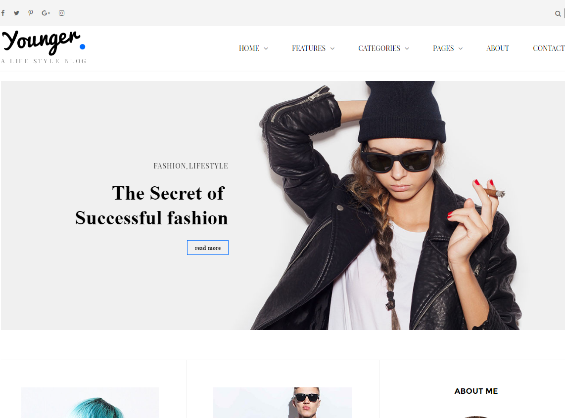 young-blogger-premium-html-template