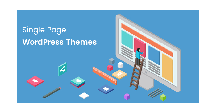 A Great Stack of Single Page WordPress Themes for Your Best Projects