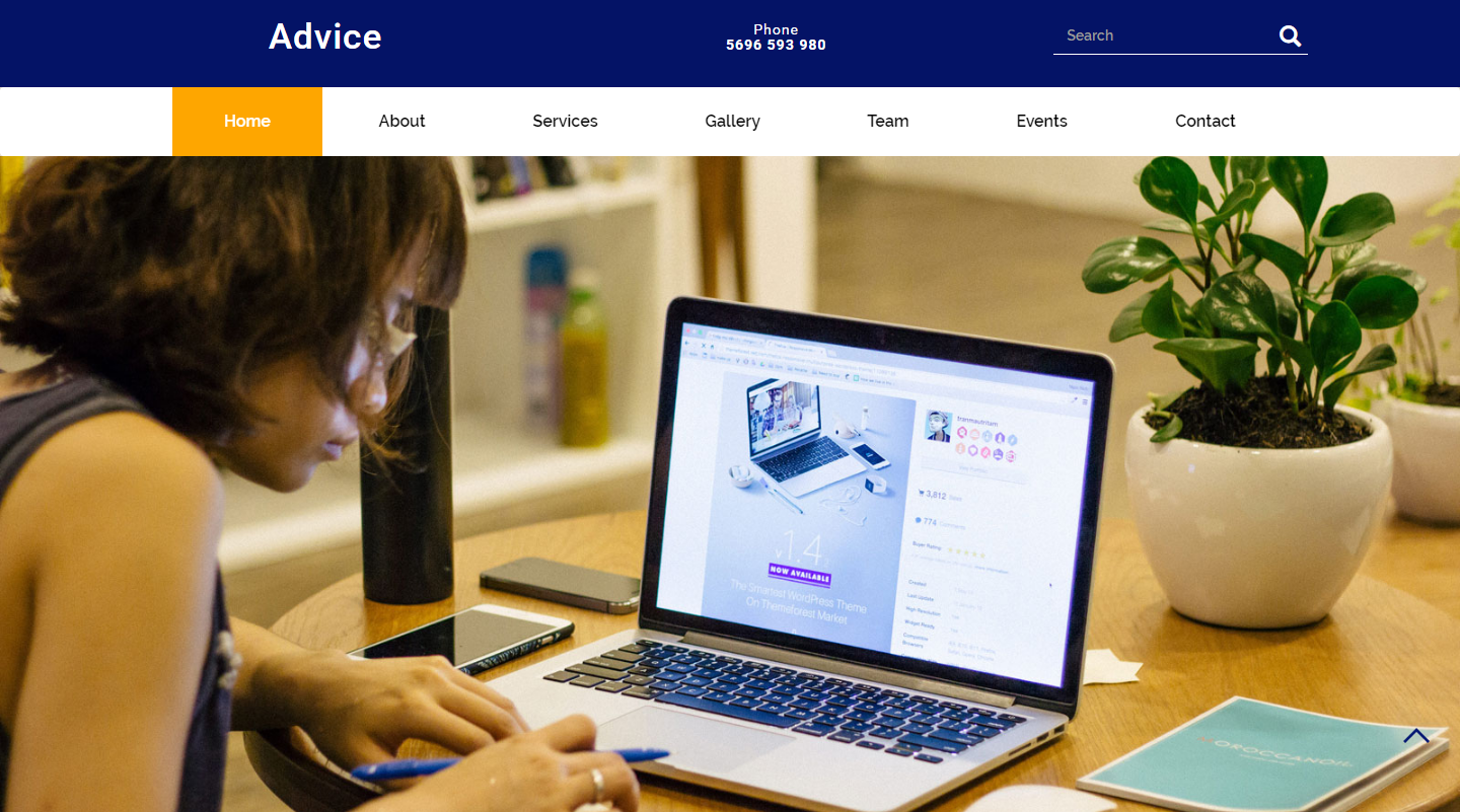 advice-free-html-template