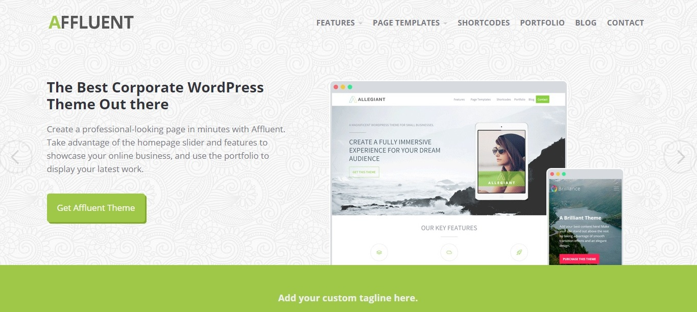 affluent-free-wordpress-theme