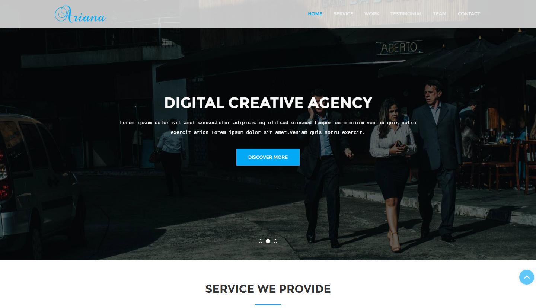 ariana-premium-html-template