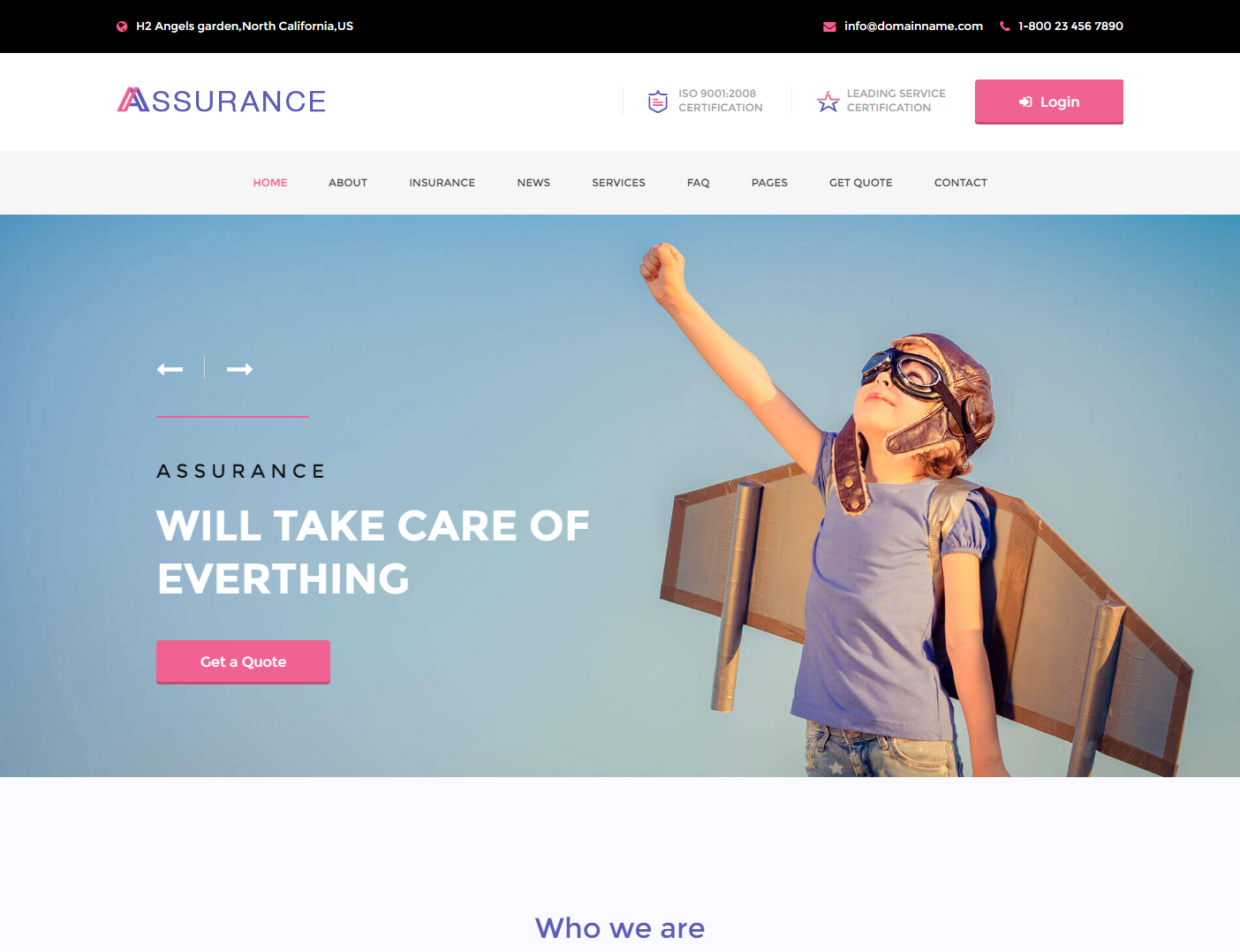 assurance-premium-wordpress-theme