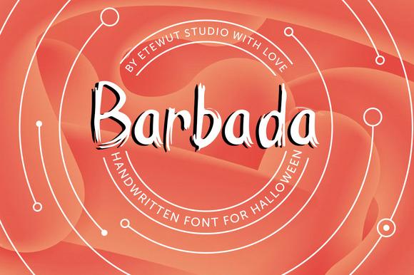 barbada-premium-font