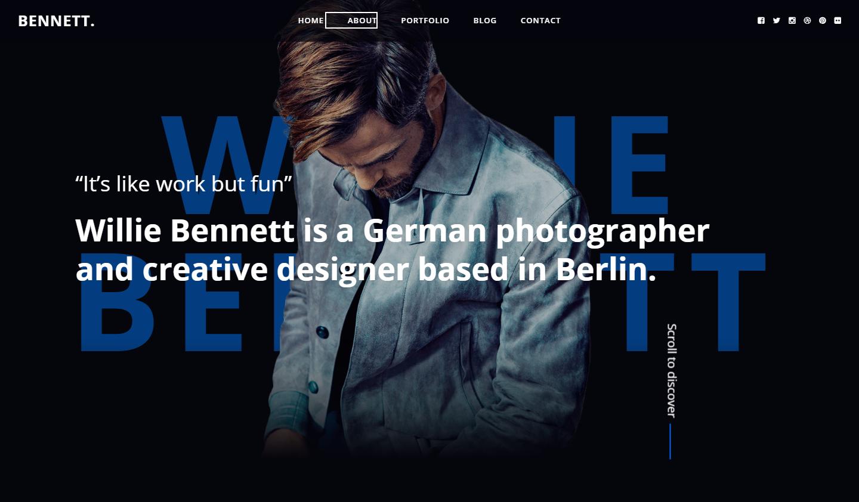 bennett-premium-html-template