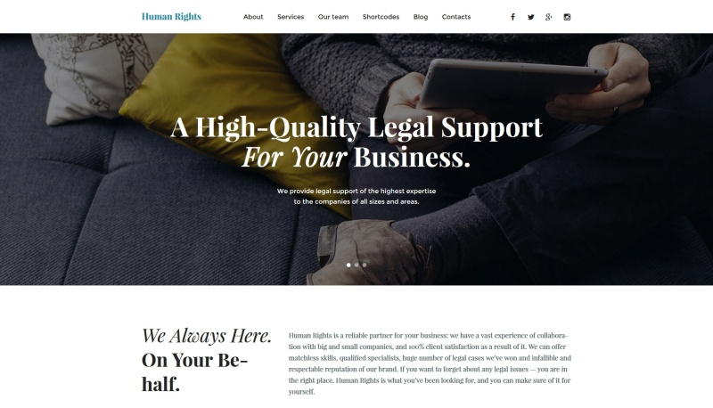 business-premium-wordpress-theme
