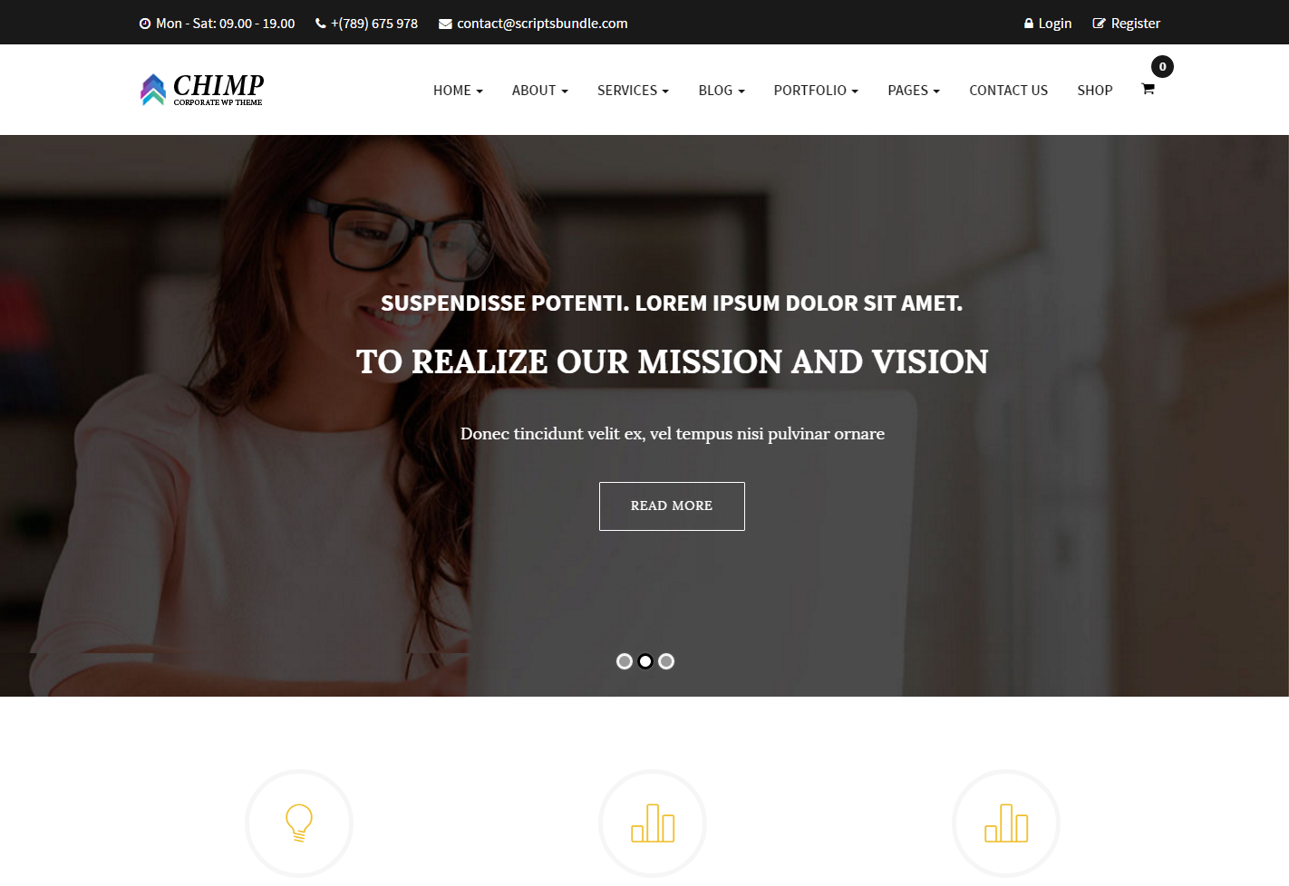 chimp-premium-wordpress-theme