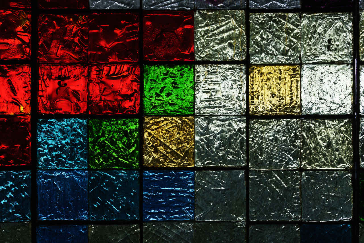 colorful-glass-bricks-under-light-free-texture