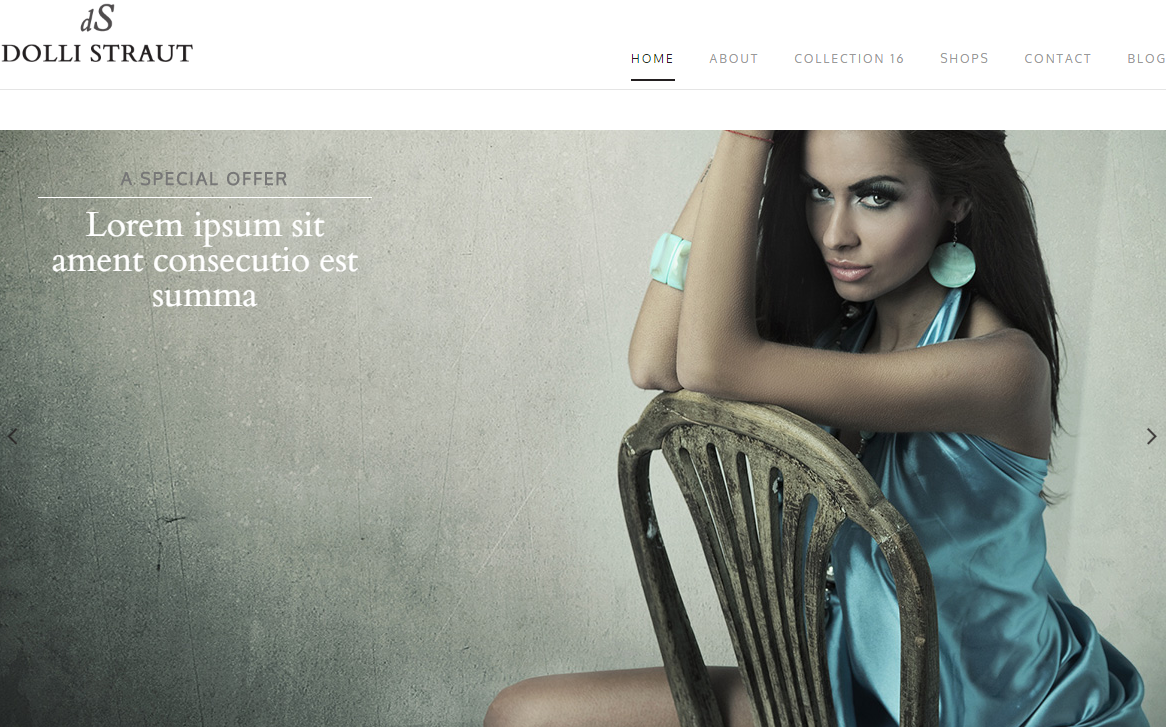 dolli-straut-premium-html-template