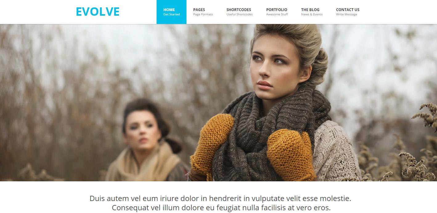 evolve-premium-html-template