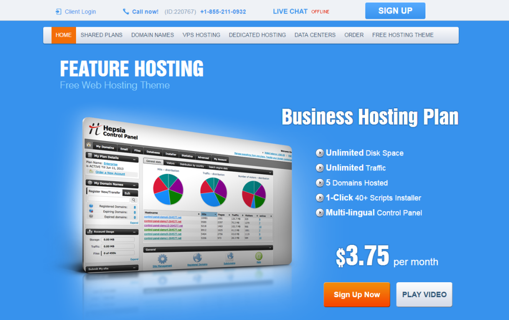 feature-hoting-free-wordpress-theme
