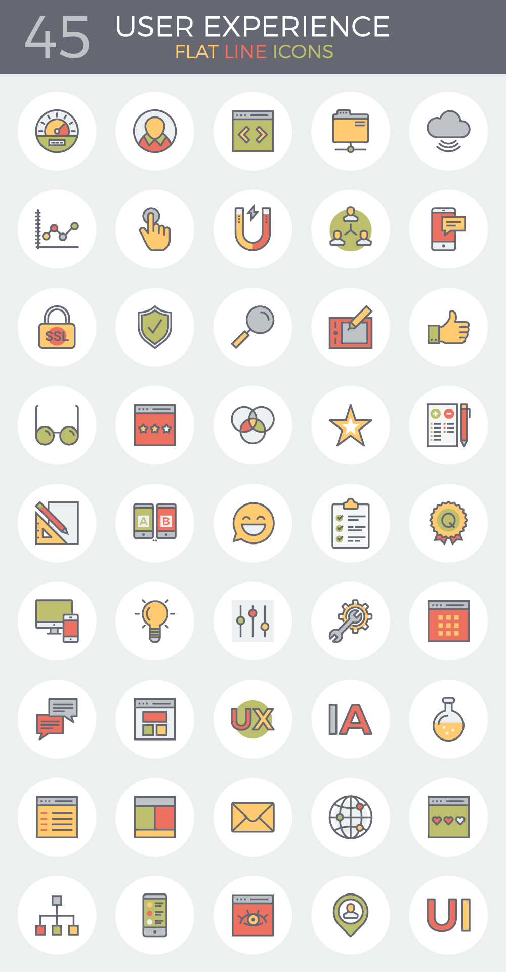 flat-line-user-experience-icon-set-45-icons