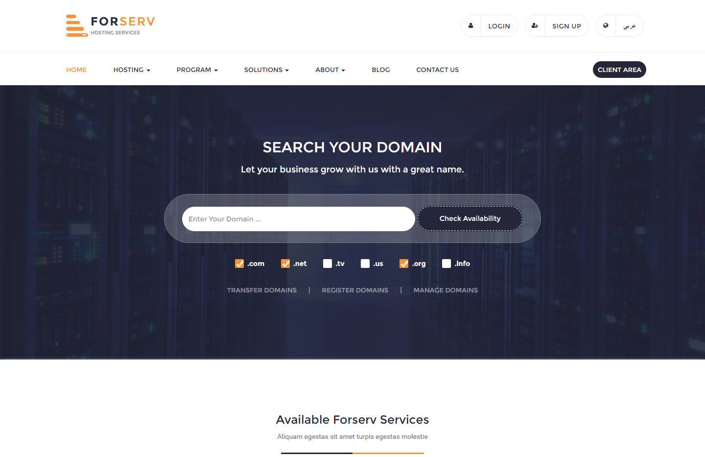 forserv-premium-html-template