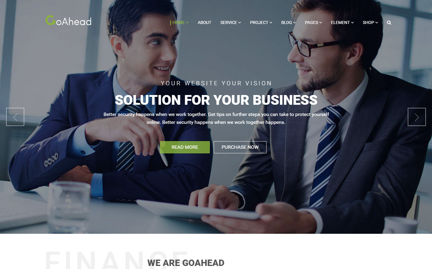 goahead-premium-wordpress-theme