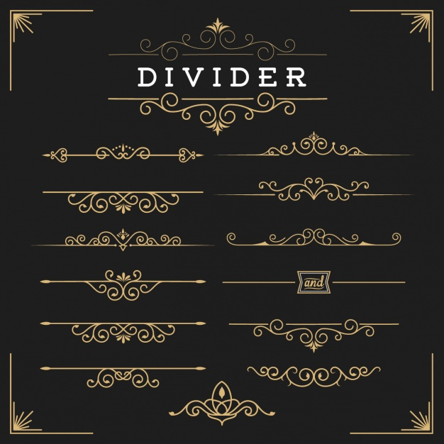 golden-dividers-free-collection