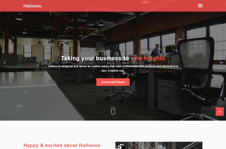 hallooou-free-html-template