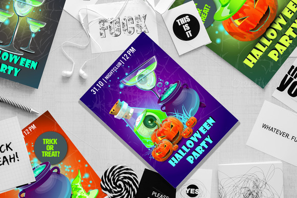 halloween-party-premium-poster