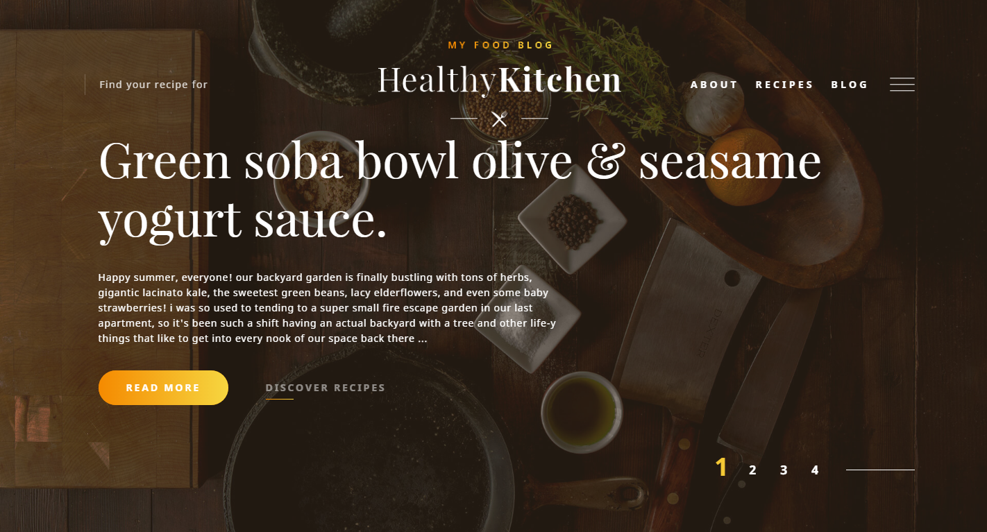 healthy-kitchen-premium-html-template